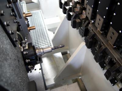 Motorspindel mit Bearbeitungswerkzeug