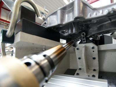 <p>Werkzeugaufnahme HSK C50 mit Bohrer</p>