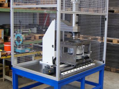 Aussenansicht Montagemaschine