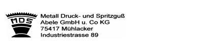 Metall Druck- und Spritzguss Logo